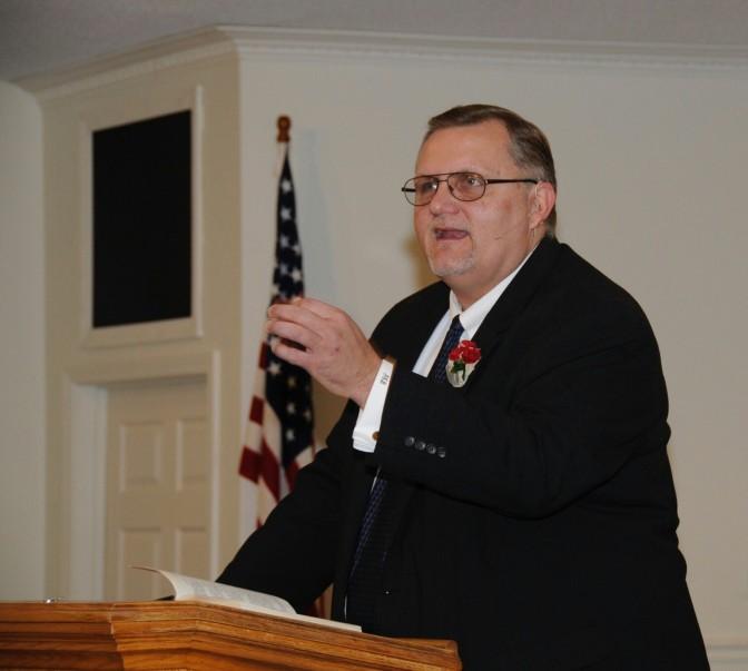 Bishop Ed Brewer